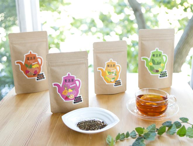体に美味しい健康茶