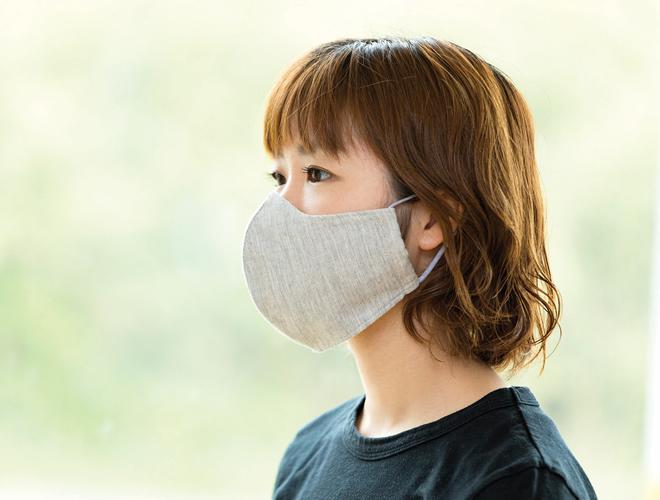 ふんわりやわらか布マスク